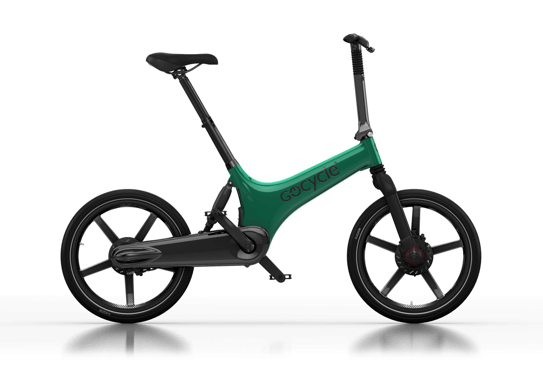 Gocycle G3C zelen