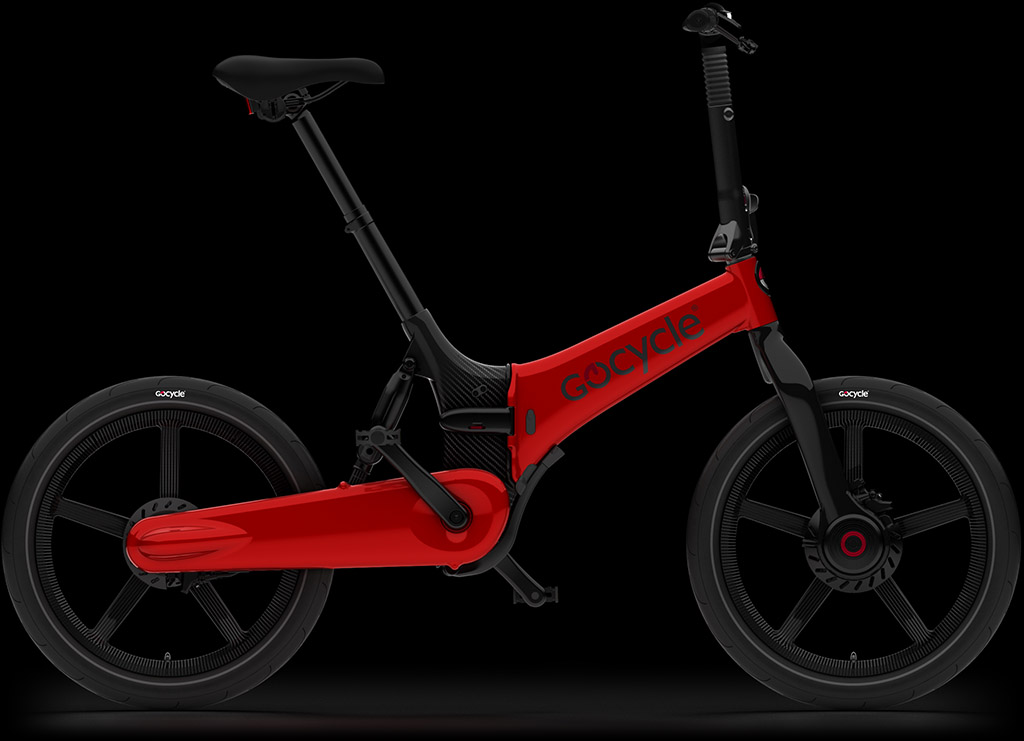 Gocycle G4i+ rdeče barve