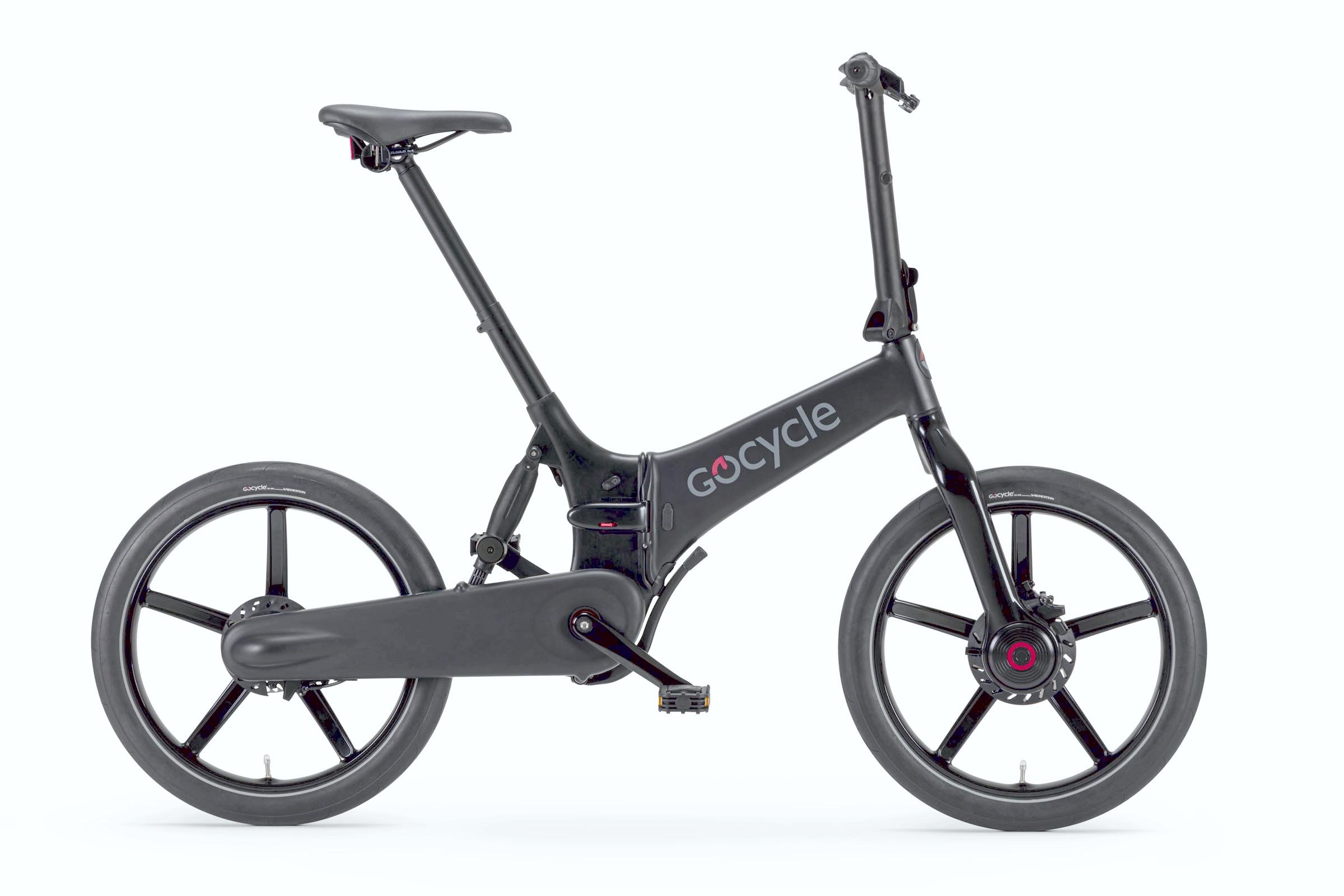 Gocycle G4 črna mat barva